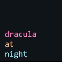 Dracula At Night - Visual Studio Marketplace